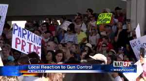 News video: Local reaction to Florida rally