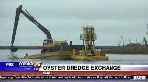 News video: Oyster dredge exchange in Biloxi