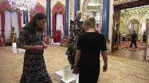 News video: Kate meets designers for London Fashion Week