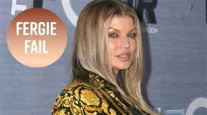 News video: Fergie is apologizing after that NBA anthem fail