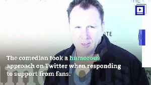 News video: SNL Alum Colin Quinn Finds Humor Amid Recovery From Heart Attack