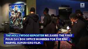 News video: 'Black Panther' Smashes Box Office Records in First Four Days
