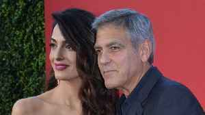 News video: George And Amal Clooney To March With Florida Shooting Survivors