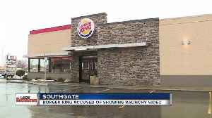 News video: Burger King responds after family says children saw sex scene playing on TV