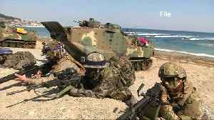News video: South Korea to announce joint military drill plan with U.S.