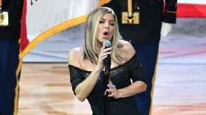 News video: Fergie Says She Tried Her Best With The National Anthem
