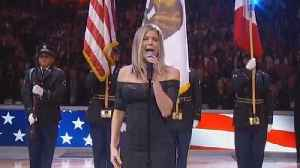News video: Fergie Slammed for Bluesy National Anthem Rendition at NBA All-Star Game