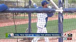 News video: Full Royals team reports for Spring Training