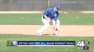 News video: Royals held first full squad workout Monday