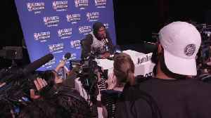 News video: Kevin Durant: 'It Would Have Been Cool to Grow Up As a Player' in Seattle