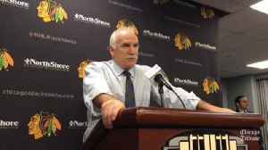 News video: Blackhaws coach Joel Quenneville on loss to Kings