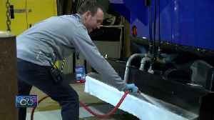 News video: Milwaukee man lives out dream job as Olympic ice maker