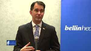 News video: Walker makes healthcare pitch in Green Bay