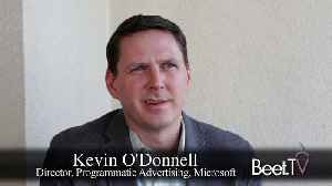 News video: Microsoft's O'Donnell On SSP Buying Decisions