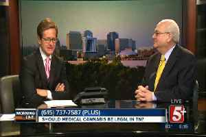 News video: MorningLine: Should medical cannabis be legal in Tennessee? P.2