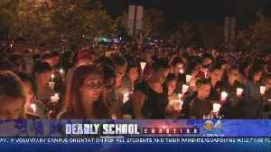 News video: Vigils Held Across State For School Shooting Victims
