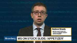 News video: Morgan Stanley's Sheets Says Rising Inflation Is Potentially More Worrying