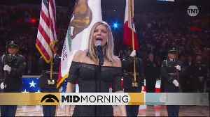 News video: Should Singers Ever Try To Spice Up The National Anthem?
