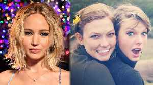 News video: Jennifer Lawrence WORRIED About Taylor Swift & Karlie Kloss' Friendship