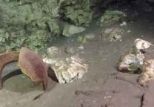 News video: Biggest Underwater Cave in the World Discovered in Mexico