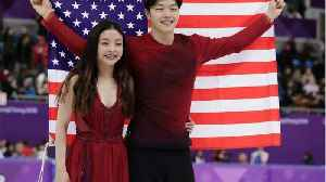News video: First Skaters Of Asian Descent Medal In Ice Dance