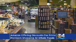 News video: Amazon's Latest Prime Perk: 5% Cash Back At Whole Foods
