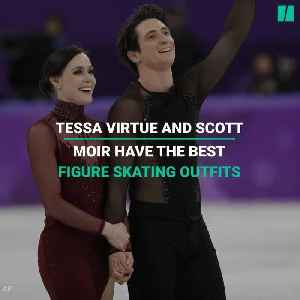 News video: 5 Times Tessa Virtue And Scott Moir Had The Best Figure Skating Outfits