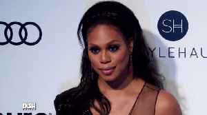 News video: Who Laverne Cox Would Want to be Stuck in an Elevator With!