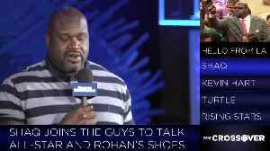 News video: Shaq Talks All-Star Weekend, Hip-Hop, and Kevin Hart