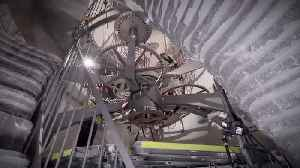 News video: Amazon CEO Jeff Bezos Shares Video of 10,000-Year Clock Project
