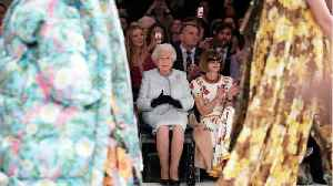 News video: Queen Elizabeth Attends London Fashion Week