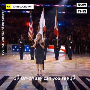 News video: Fergie Sang a Cringe-Worthy Version of the National Anthem