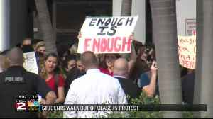 News video: Students participate in protests, vigils after FL shooting