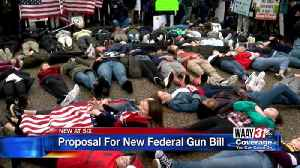 News video: Bipartisan gun legislation introduced following school shoot
