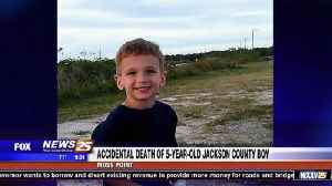 News video: Accidental death of five-year-old Jackson County boy