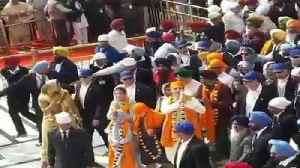 News video: Canadian PM At Golden Temple