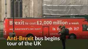 News video: Anti-Brexit campaign bus kicks off on tour