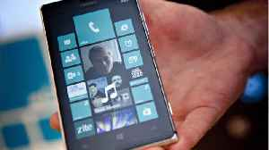 News video: Microsoft Is Killing Windows OS For Smartphones