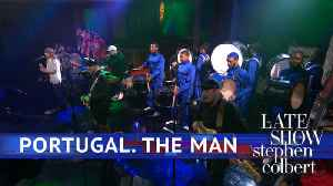News video: Portugal. The Man Performs 'Live In The Moment'