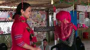 News video: Artist helps Rohingya women face sexual violence, past and present