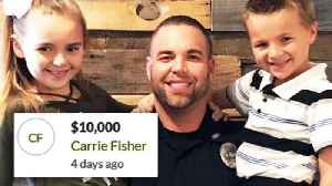 News video: Carrie Underwood Donates $10,000 to Hometown Officer Injured in Crash