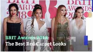 News video: BRIT Awards 2018: The Best Red Carpet Looks