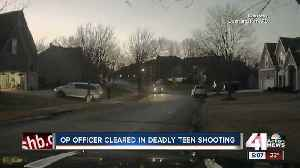 News video: DA: No criminal charges filed in officer-shooting that killed OP teen