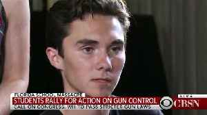 News video: News media use Parkland students to push gun control after tragedy