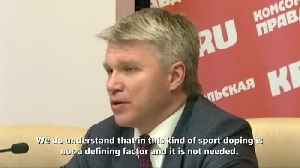 News video: Too early to draw conclusions on doping in curling: Russian sport minister