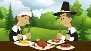 News video: The Surprising Origin of Thanksgiving Foods
