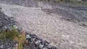 Heavy Rain From Ex-Cyclone Gita Turns Rakaia River into a River of Rock [Video]