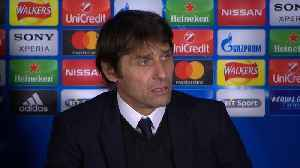 News video: Conte happy with performance, says Chelsea have a chance to win tie