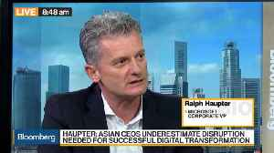 News video: Microsoft's Haupter Sees AI Central to Asia Digital Transformation