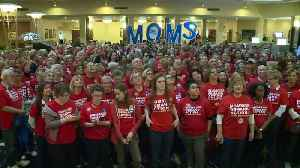 Mom`s Group Marches to Missouri Capitol to Demand Changes to Gun Laws